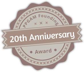 PPGAM Founding Award – 20th Anniversary